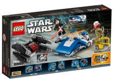 A-Wing contra TIE Silencer Microfighters (75196) - LEGO Star Wars