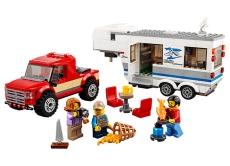 Camioneta si rulota (60182) - LEGO City