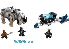 Confruntarea cu rinocerul langa mina (76099) - LEGO Super Heroes