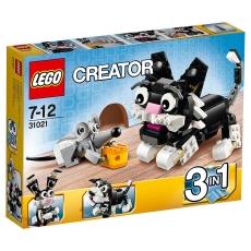 Creaturi Blănoase 3-în-1 LEGO Creator 31021