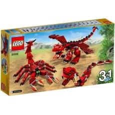 Creaturi Roșii (31032) - LEGO Creator