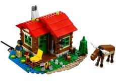Căsuţa de pe Malul Lacului (31048) - LEGO Creator