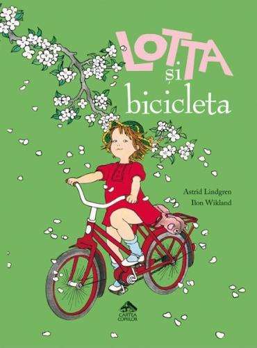 """""""Lotta şi bicicleta"""" de Astrid Lindgren"""