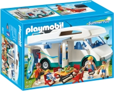 Maşina de camping - PLAYMOBIL Summer Fun - 6671