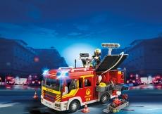 Maşina de pompieri cu lumini şi sunete - PLAYMOBIL Fire Brigade - 5363
