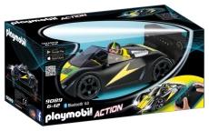 Masina de curse cu telecomanda, neagra - PLAYMOBIL Sports&Action - PM9089