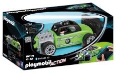 Masina de curse cu telecomanda, verde - PLAYMOBIL Sports&Action - PM9091