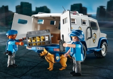 Masina de politie blindata - PLAYMOBIL City Action - PM9371