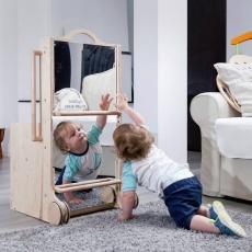 Extensie Mobilier Multifuncţional Leea - Oglindă Montessori mare