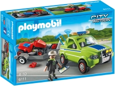 Om cu maşina de tuns iarba - PLAYMOBIL City - 6111
