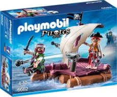 PLUTA CU PIRATI - PLAYMOBIL Pirates - PM6682