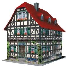 Puzzle 3D, Casă medievală, 216 piese