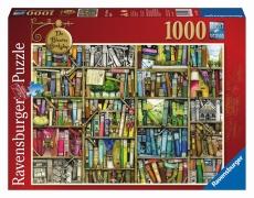 PUZZLE LIBRARIA BIZARA, 1000 PIESE - Ravensburger