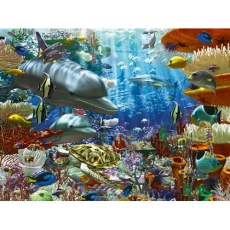 PUZZLE MINUNILE OCEANULUI, 3000 PIESE - Ravensburger