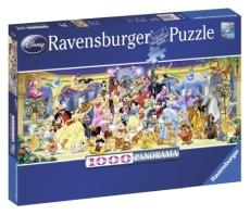 PUZZLE PERSONAJELE DISNEY, 1000 PIESE - Ravensburger