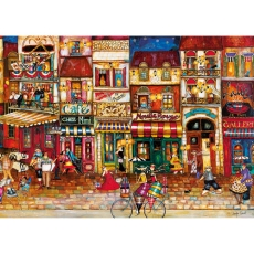PUZZLE STRAZILE FRANTEI, 1000 PIESE - Ravensburger
