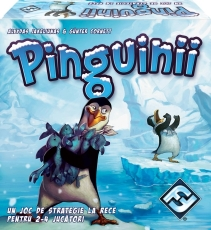 Pinguinii - Joc de strategie... la rece