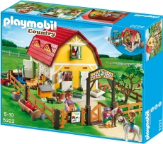 Ferma Poneilor - PLAYMOBIL Poney Farm - 5222