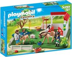 Grajd cu Cai - PLAYMOBIL Super Set - 6147