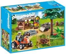 Depozit de Cherestea şi Tractor - PLAYMOBIL Country - 6814