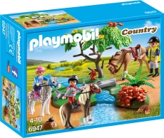 Plimbare la Tara cu Calutii - PLAYMOBIL Pony Farm - PM6947