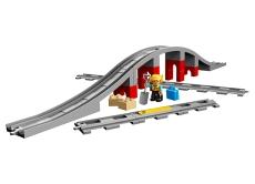 Pod şi şine de cale ferată - LEGO DUPLO (10872)