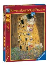 Puzzle 1000 piese - Gustav Klimt - Sărutul