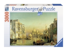 Puzzle - Veneţia - Friedrich Nerly: Canale Grande - 3000 piese - Ravensburger