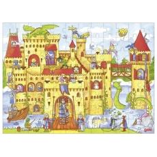 Puzzle Lemn - 96 piese - Castelul Cavalerilor