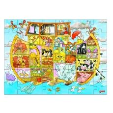 Puzzle Lemn - Viaţa pe Arca lui Noe