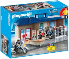 SET MOBIL SECTIE DE POLITIE - PLAYMOBIL City Action - 5299