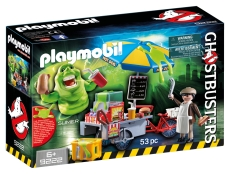 SLIMER ŞI STANDUL DE HOT DOG - (9222) Playmobil Ghostbusters