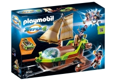 SUPER 4 - BARCA PIRATULUI CAMELEON - PLAYMOBIL Super 4 II - PM9000