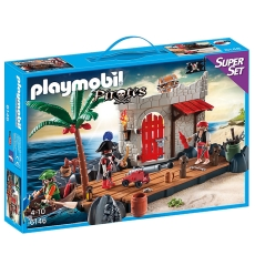 Insula Piraţilor - PLAYMOBIL Super Set - 6146