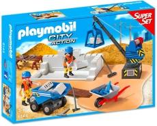 Şantierul de construcţie - PLAYMOBIL Super Set - 6144