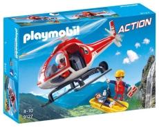 Salvatori montani cu elicopter - PLAYMOBIL Action - PM9127