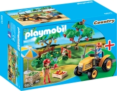 Set Recolta din Livada - PLAYMOBIL Starter Sets - PM6870