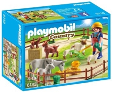 TARC CU ANIMALE DE LA FERMA - PLAYMOBIL Country Farm - PM6133
