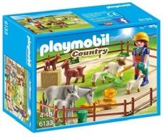 TARC CU ANIMALE DE LA FERMA - PLAYMOBIL Country Farm - PM6133
