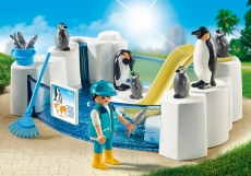Tarcul pinguinilor - PLAYMOBIL Family Fun - PM9062