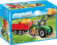 Tractor Mare cu Remorcă - PLAYMOBIL Country Farm - 6130
