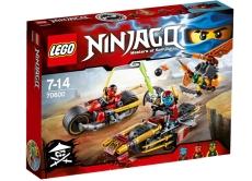 Urmarirea Ninja cu motocicleta (70600) - LEGO Ninjago