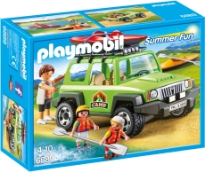 Vehicul de Teren - PLAYMOBIL Large Holiday Camp - PM6889