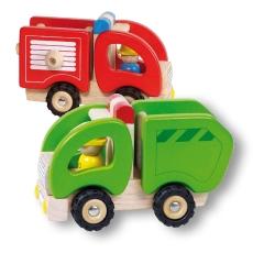 Bundle Mașină Pompieri și Camion