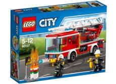 Camion de pompieri cu scara (60107) - LEGO City