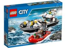 Nava de patrulare a politiei (60129) - LEGO City