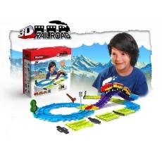 Circuit Trenuleţ Modular - 38 piese