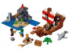 Aventura corabiei de pirati (21152) - LEGO Minecraft