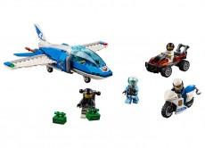 Arest cu paraautisti al politiei aeriene (60208) - LEGO City