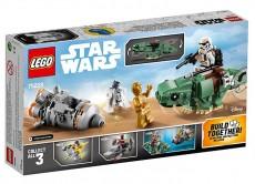 Capsula de salvare contra Dewback Microfighter (75228) - LEGO Star Wars